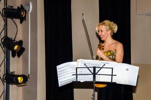 Ałmaty, Kazachstan, recital Patrycji Piekutowskiej (skrzypce) i Anny Miernik (fortepian)